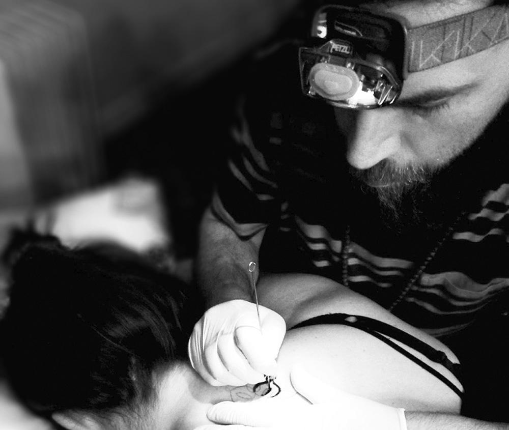 Hand Poked Tattoo Artists