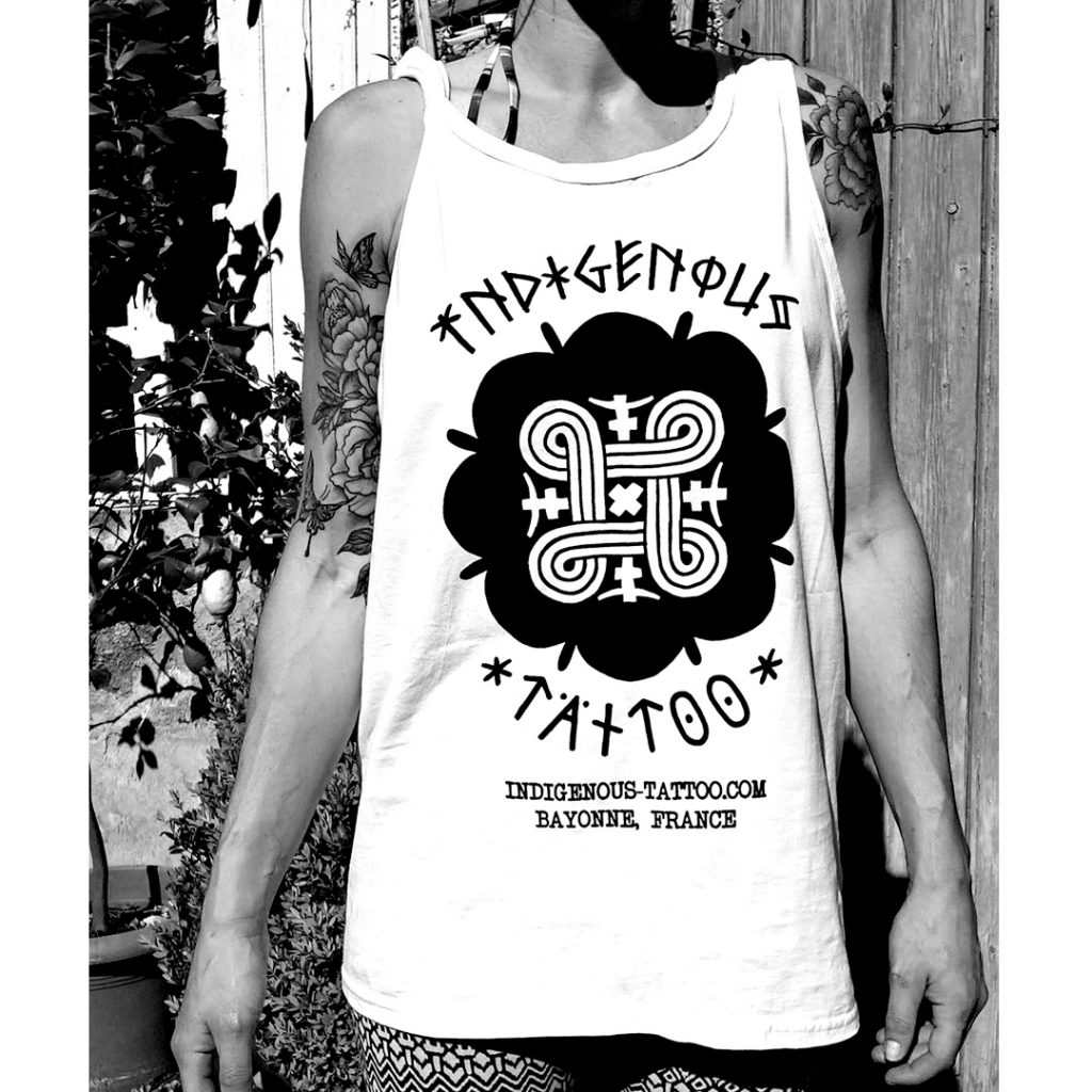 Indigenous Tattoo Womens Tank Top