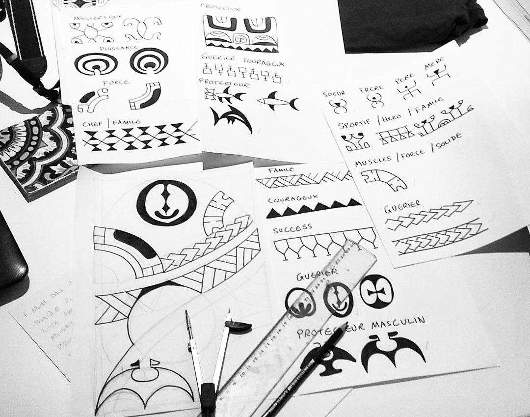Tattoo Polynesien Biarritz